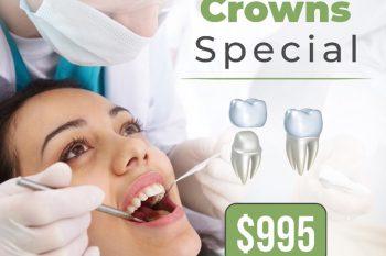 same day crown special   Dental crown in Buderim